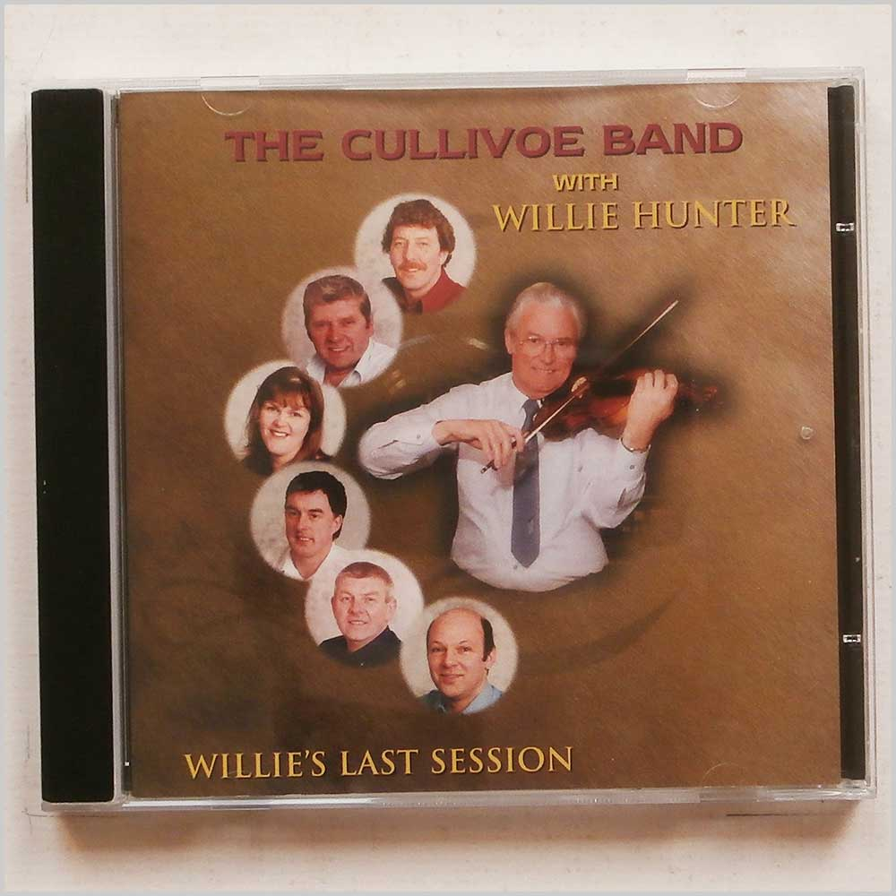 The Cullivoe Band with Willie Hunter - Willie's Last Session (5018081018628)