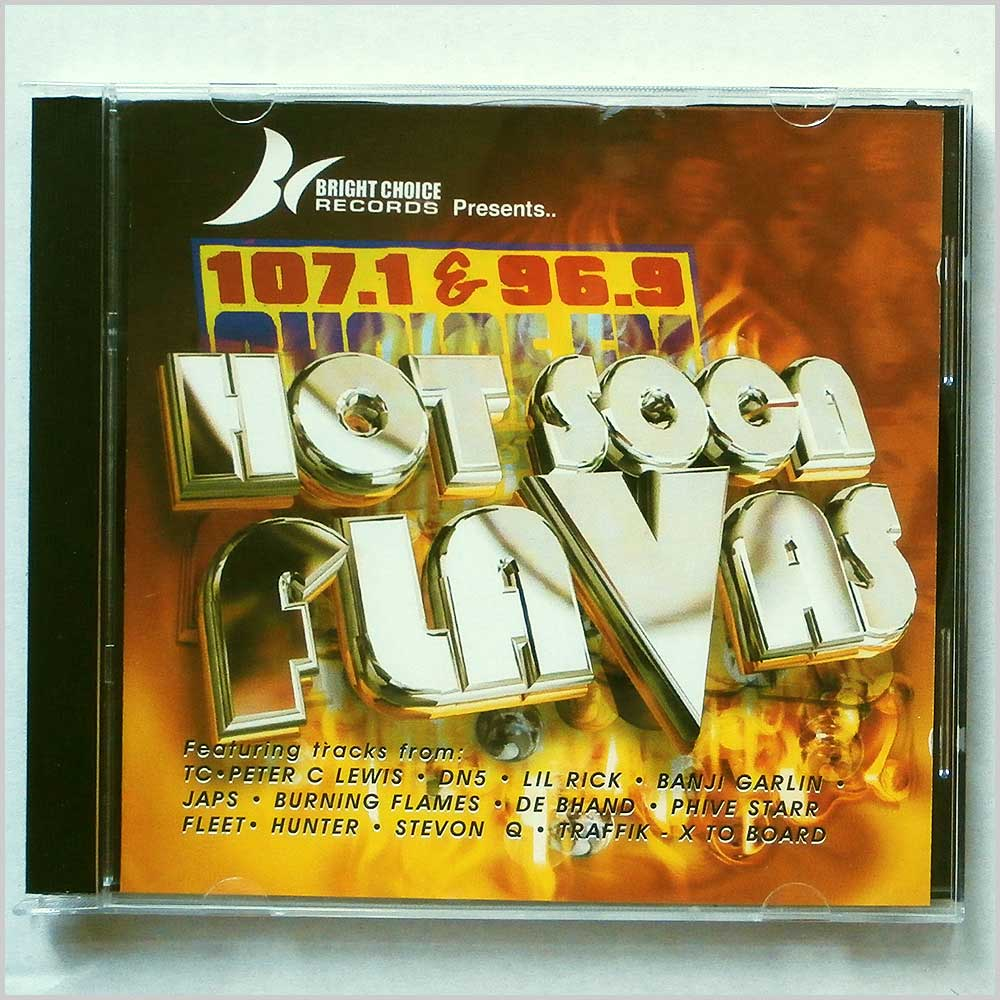 Various - Hot Soca Flavas (5019148629931)