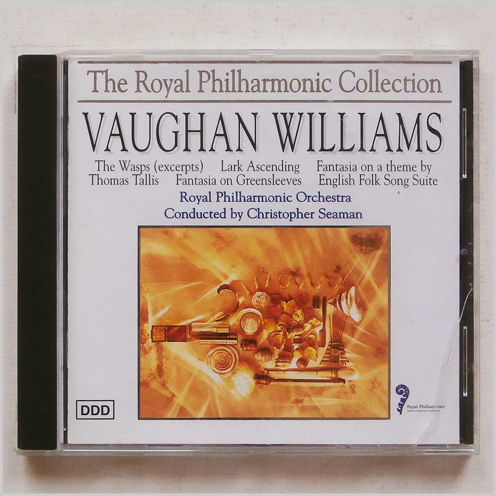 Royal Philharmonic Orchestra conductor Christopher Seaman - The Royal Philharmonic Collection: Vaughan Williams (5020214003128)