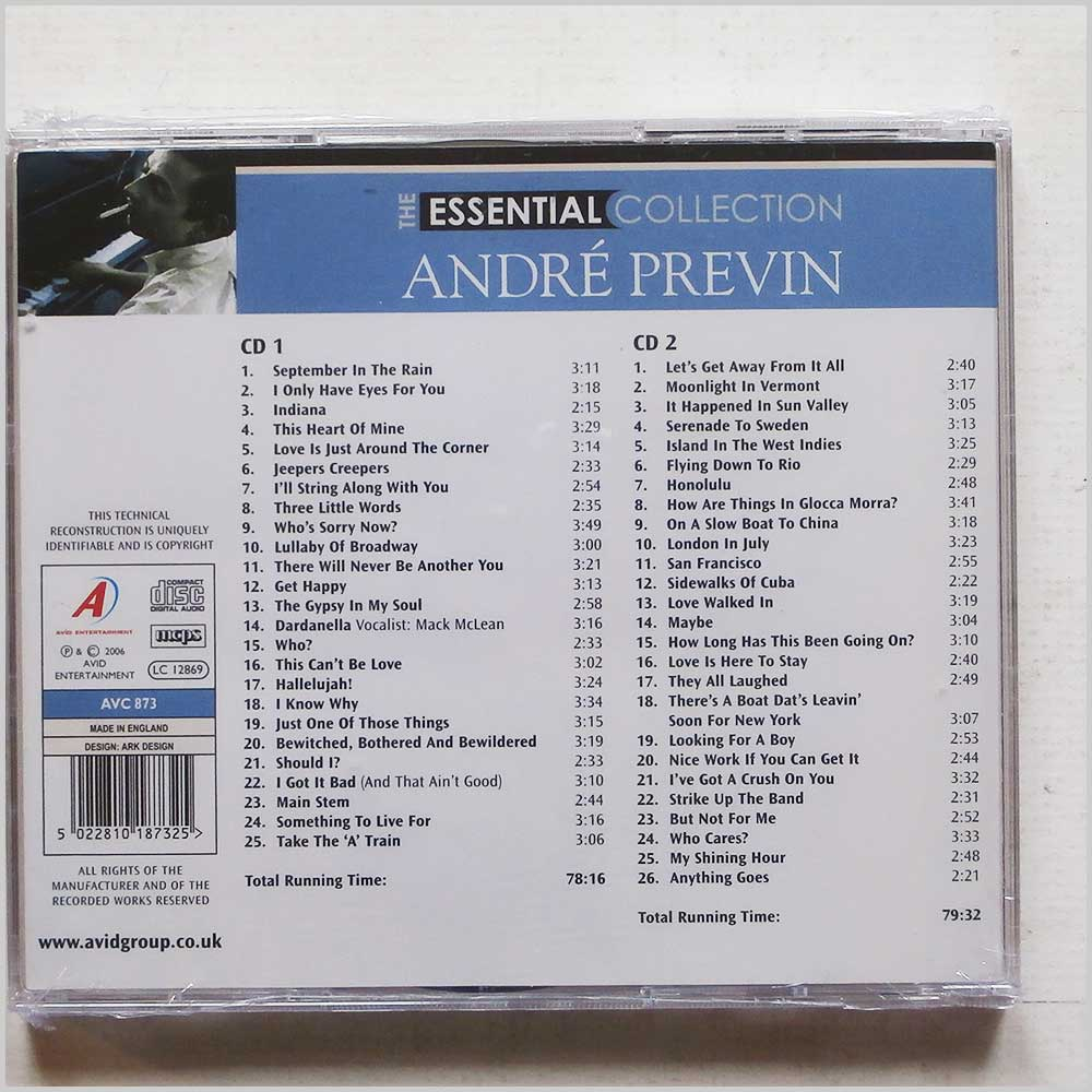 Andre Previn - The Essential Collection (5022810187325)