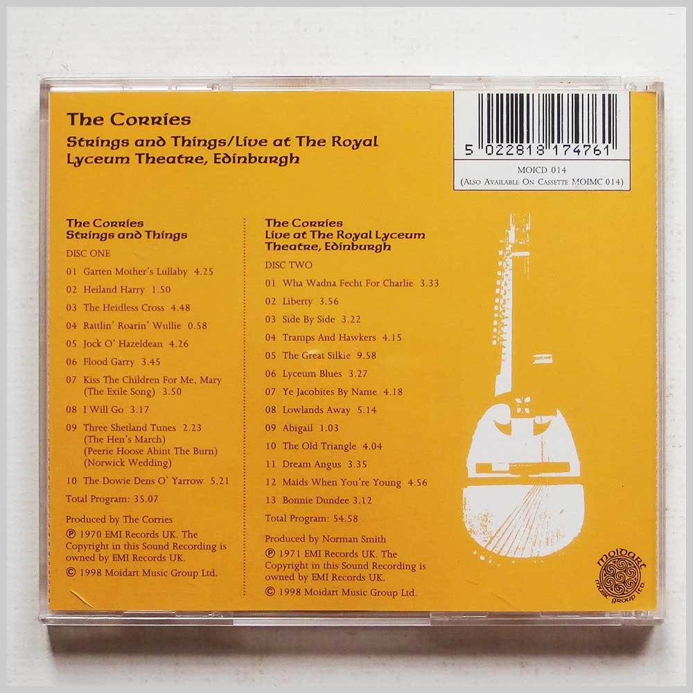 The Corries - String and Things, Live at the Royal Lyceum (5022818174761)