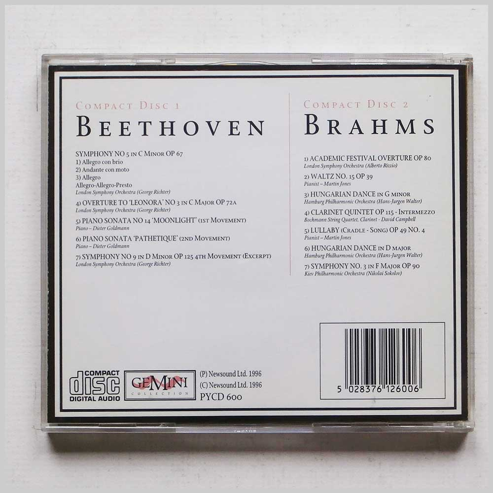 London Symphony Orchestra - Beethoven and Brahms (5028376126006)