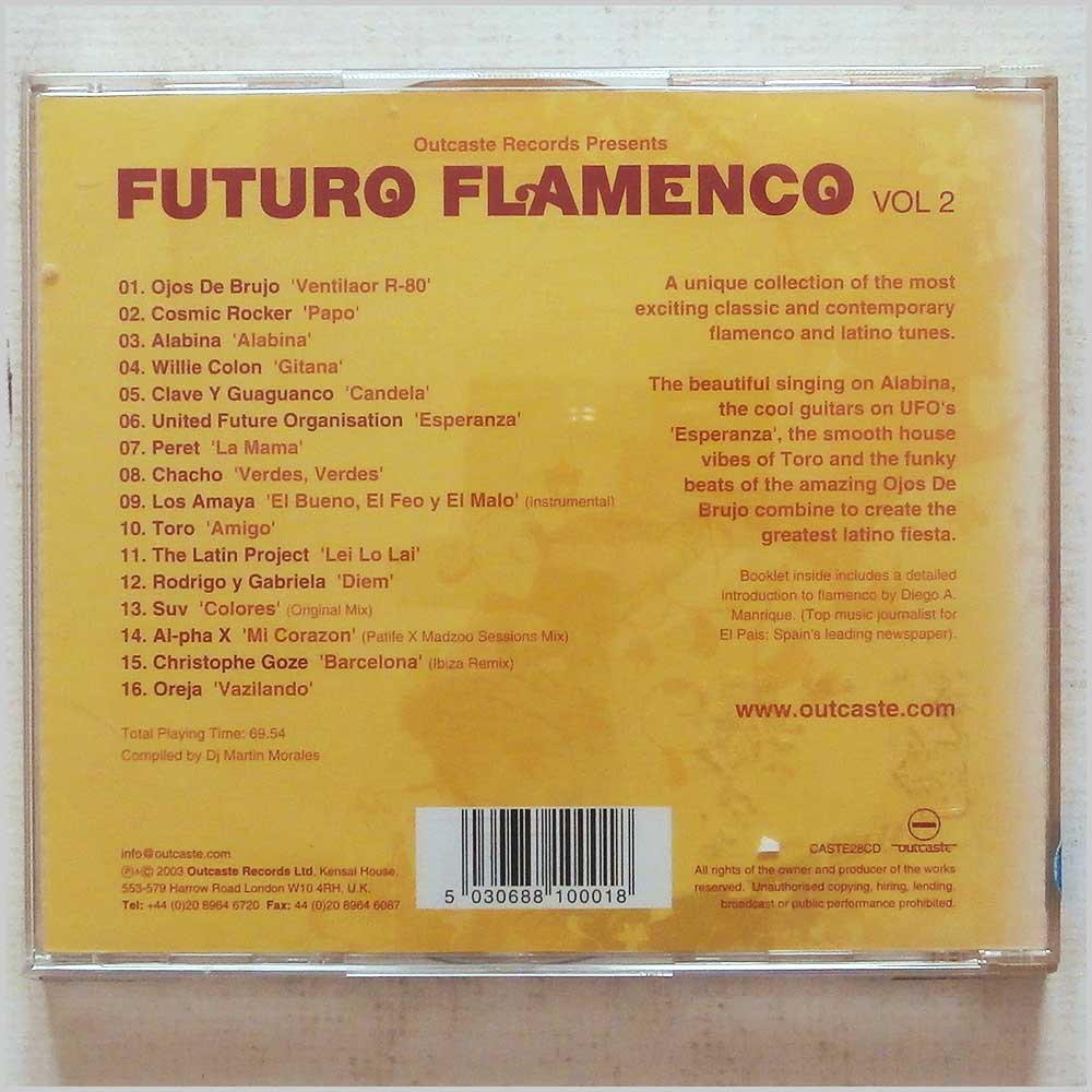 Various - Futuro Flamenco, Vol. 2 (5030688100018)