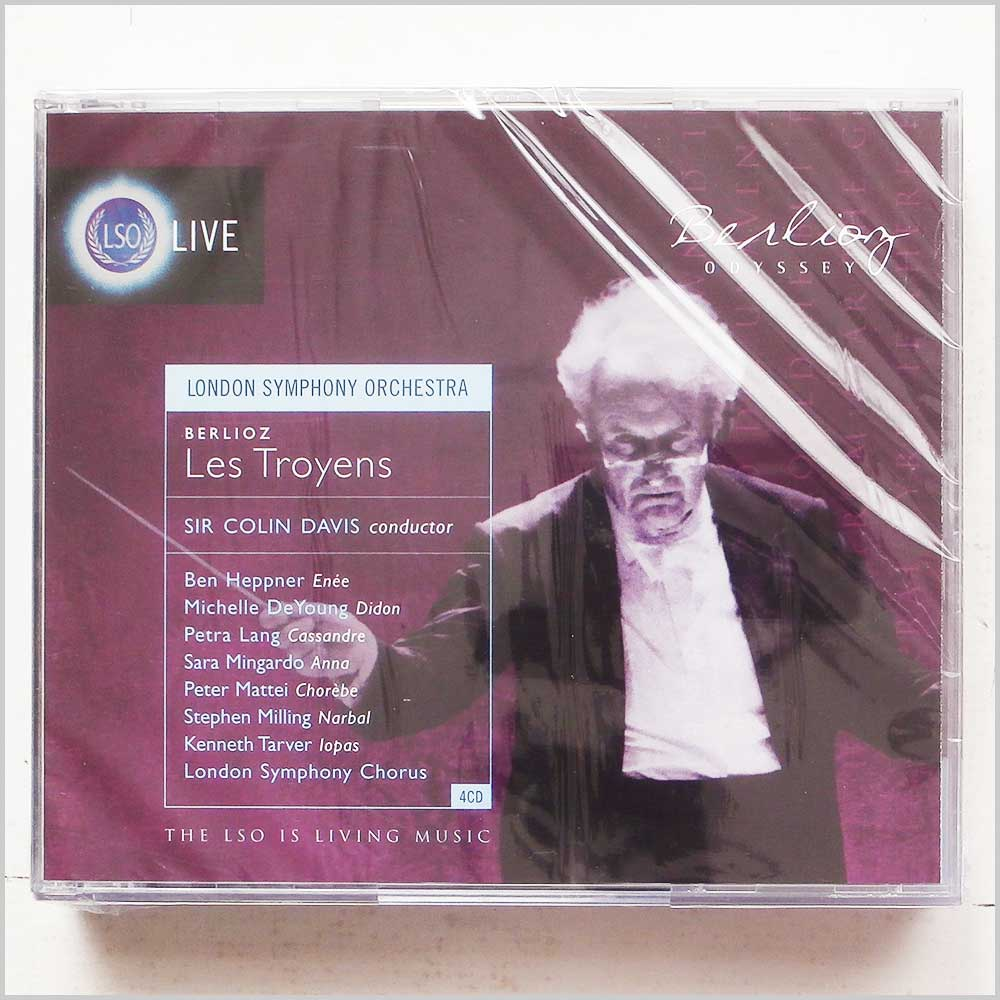 Sir Colin Davis, London Symphony Orchestra - Berlioz: Les Troyens (5030820019772)