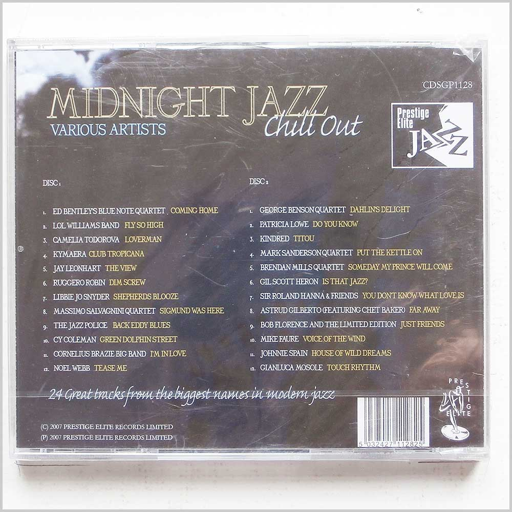 Various - Midnight Jazz (5032427112825)
