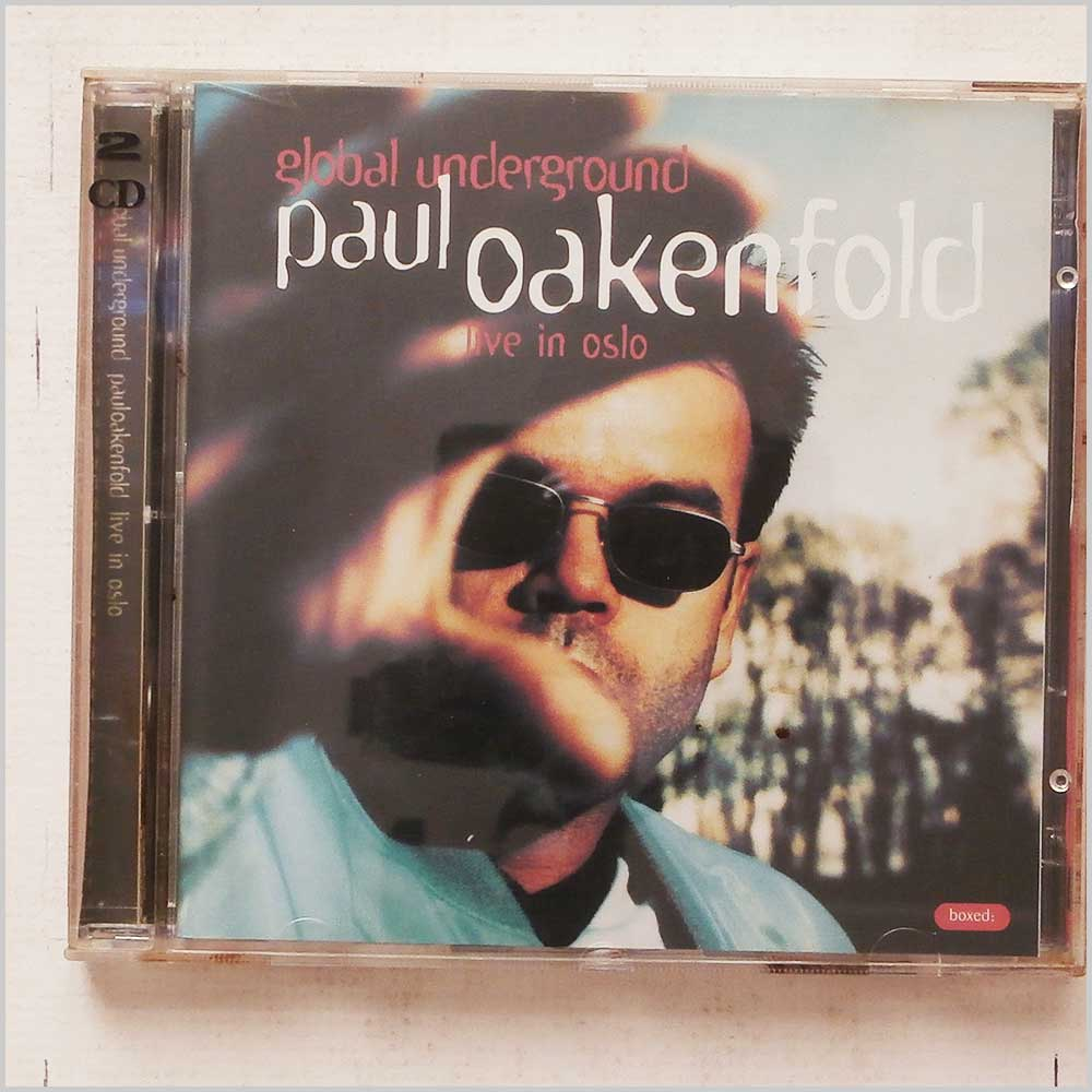 Paul Oakenfold - Global Underground: Paul Oakenfold Live In Oslo (5033272000220)