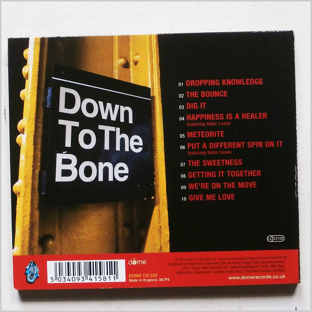 Down To The Bone - Dig It (5034093415811)
