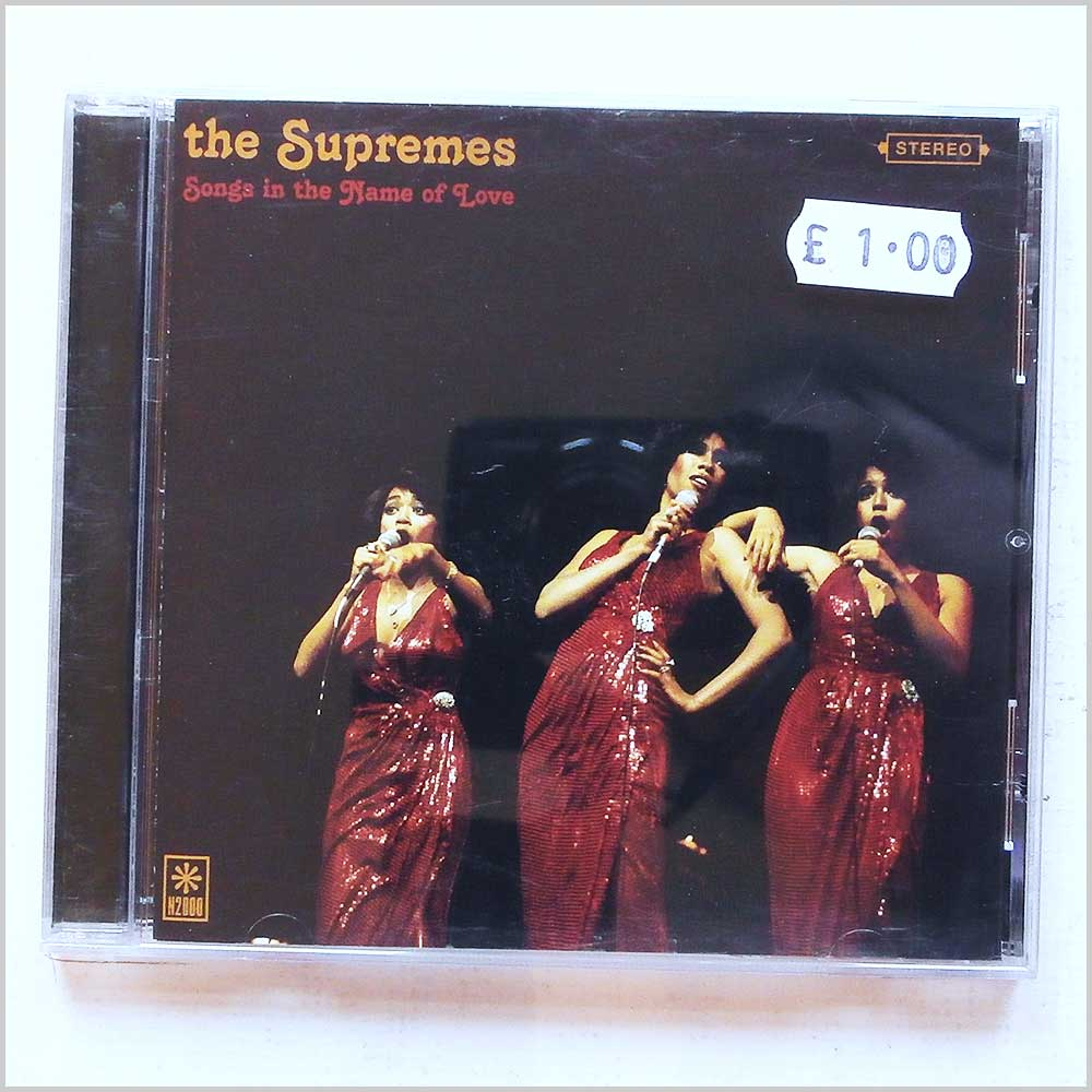 The Supremes - Songs In The Name Of Love (5035462112119)