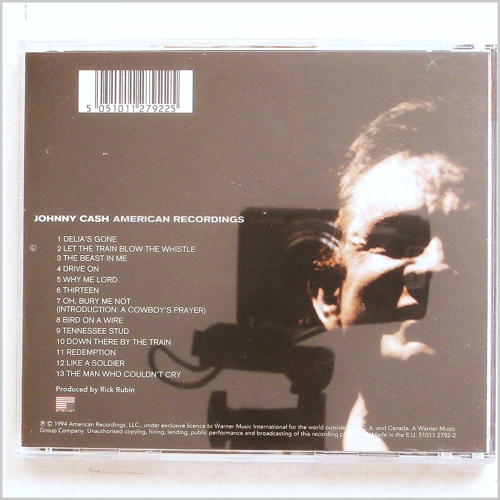 Johnny Cash - American Recordings (5051011279225)