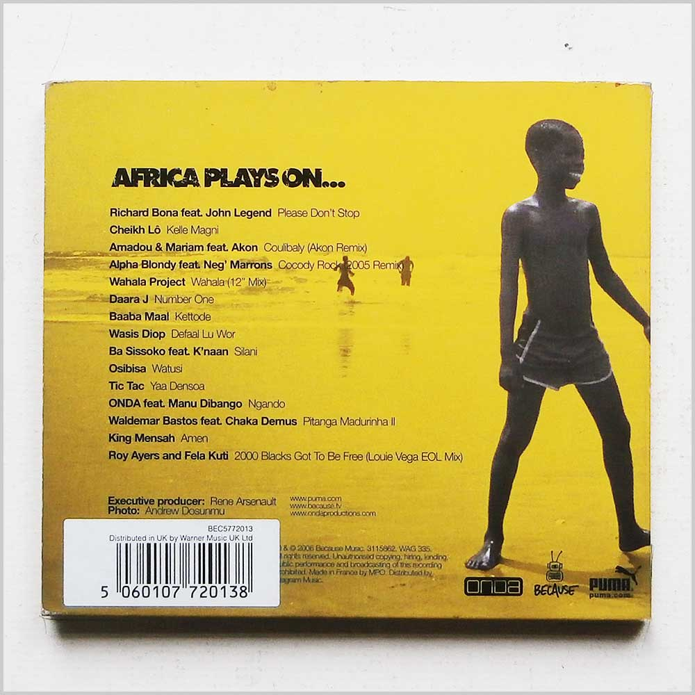 Various - Africa Plays On (5060107720138)