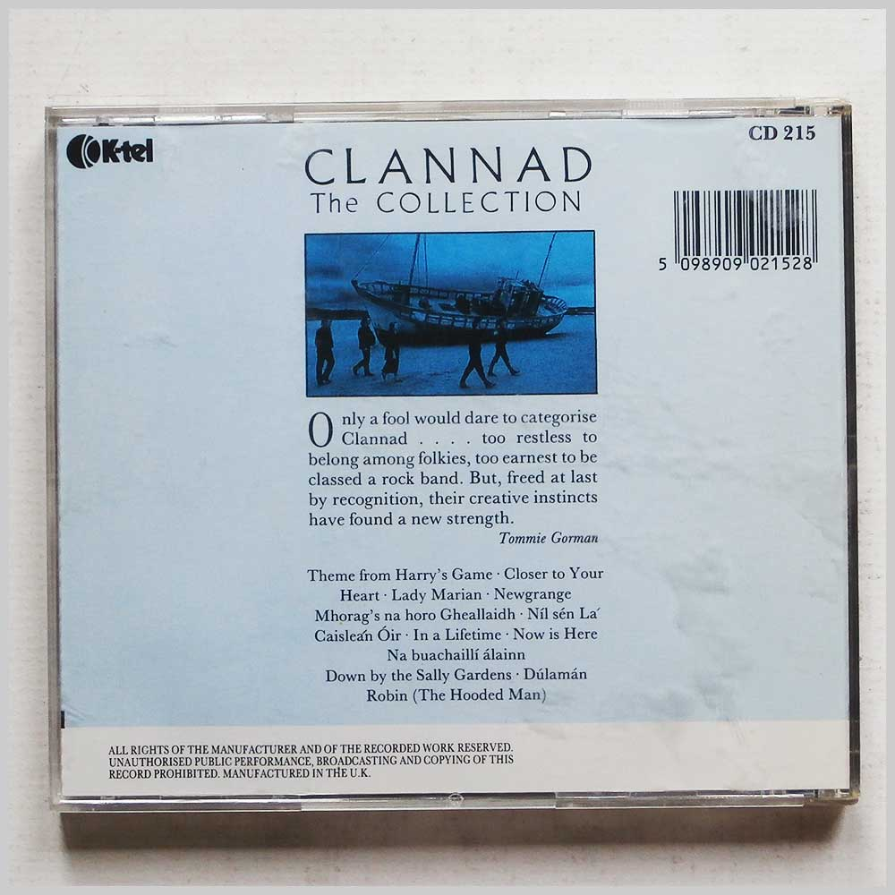 Clannad - The Collection (5098909021528)