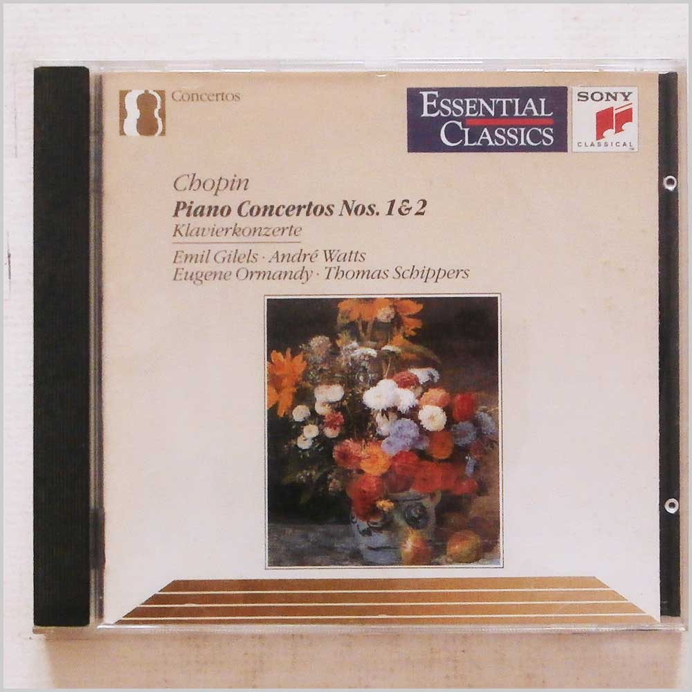 Emil Gilel, Andre Watts - Chopin: Piano Concertos Nos. 1 and 2 (5099704633626)