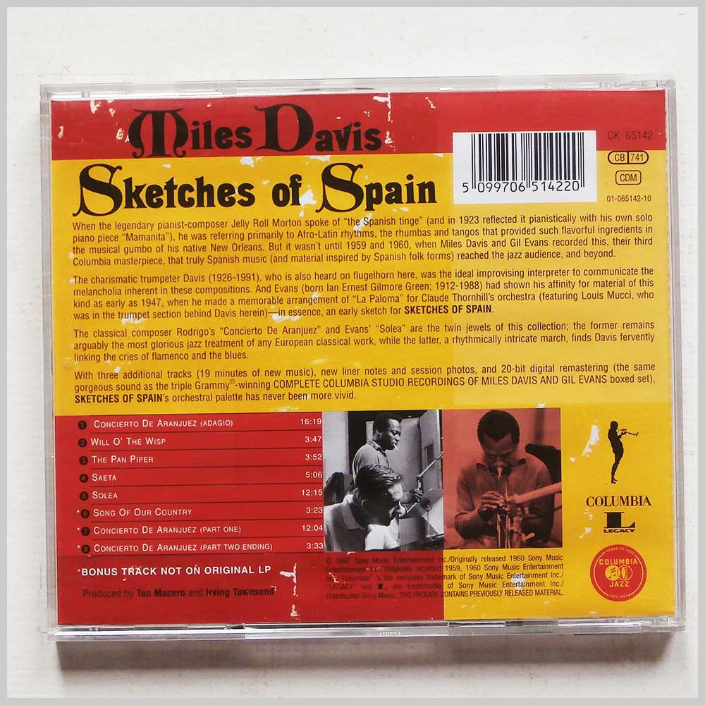 Miles Davis, Gil Evans - Sketches of Spain (5099706514220)