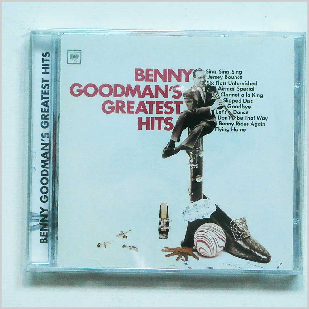 Benny Goodman  - Benny Goodman's Greatest Hits (5099706542124)
