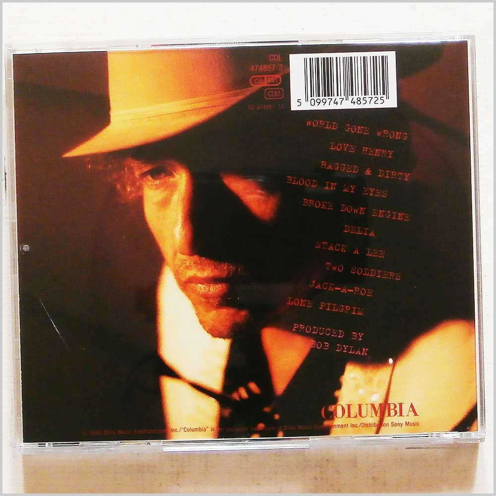 Bob Dylan - World Gone Wrong (5099747485725)