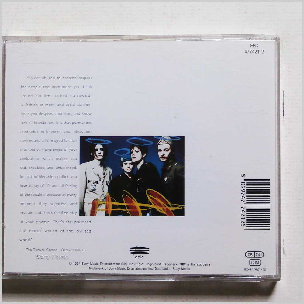 Manic Street Preachers - The Holy Bible (5099747742125)