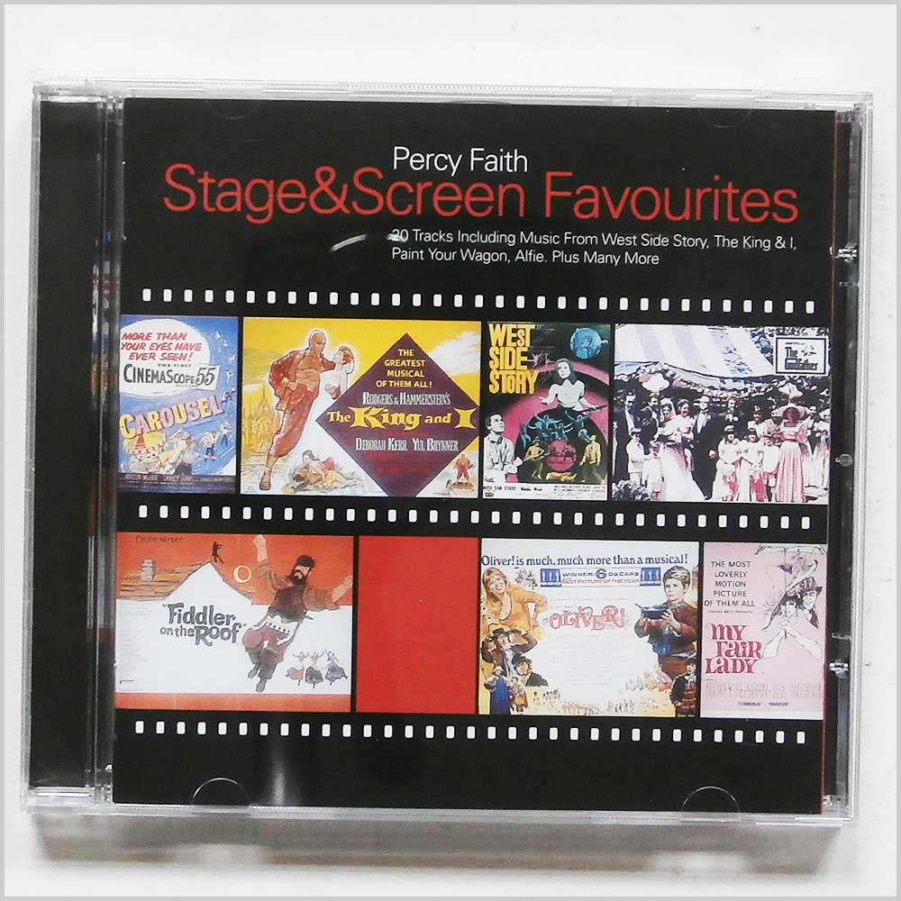 Percy Faith - Stage and Screen Favourites (5099748512628)