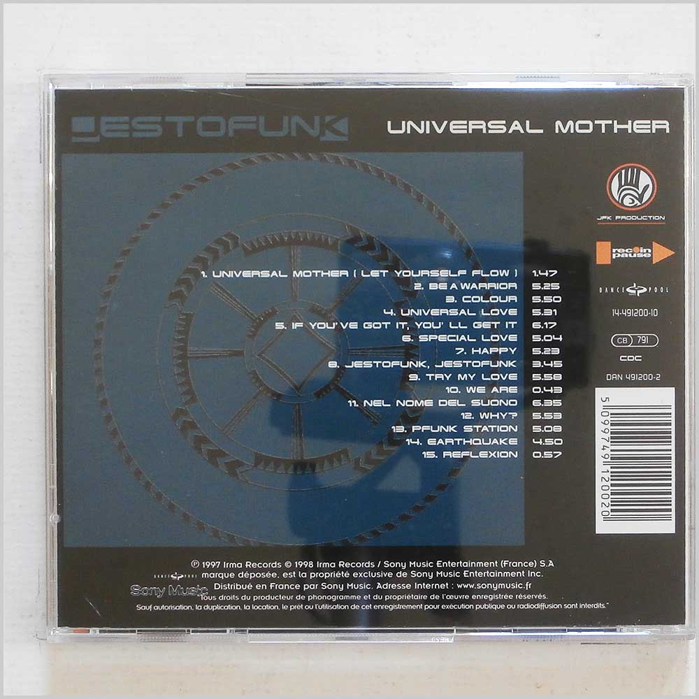 Jestofunk - Universal Mother (5099749120020)