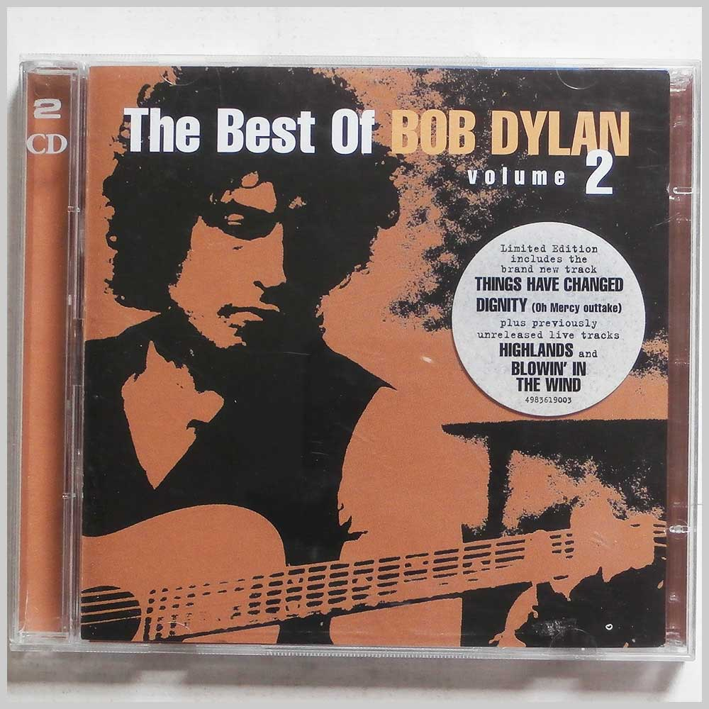 Bob Dylan - The Best of Bob Dylan Volume 2 (5099749836198)