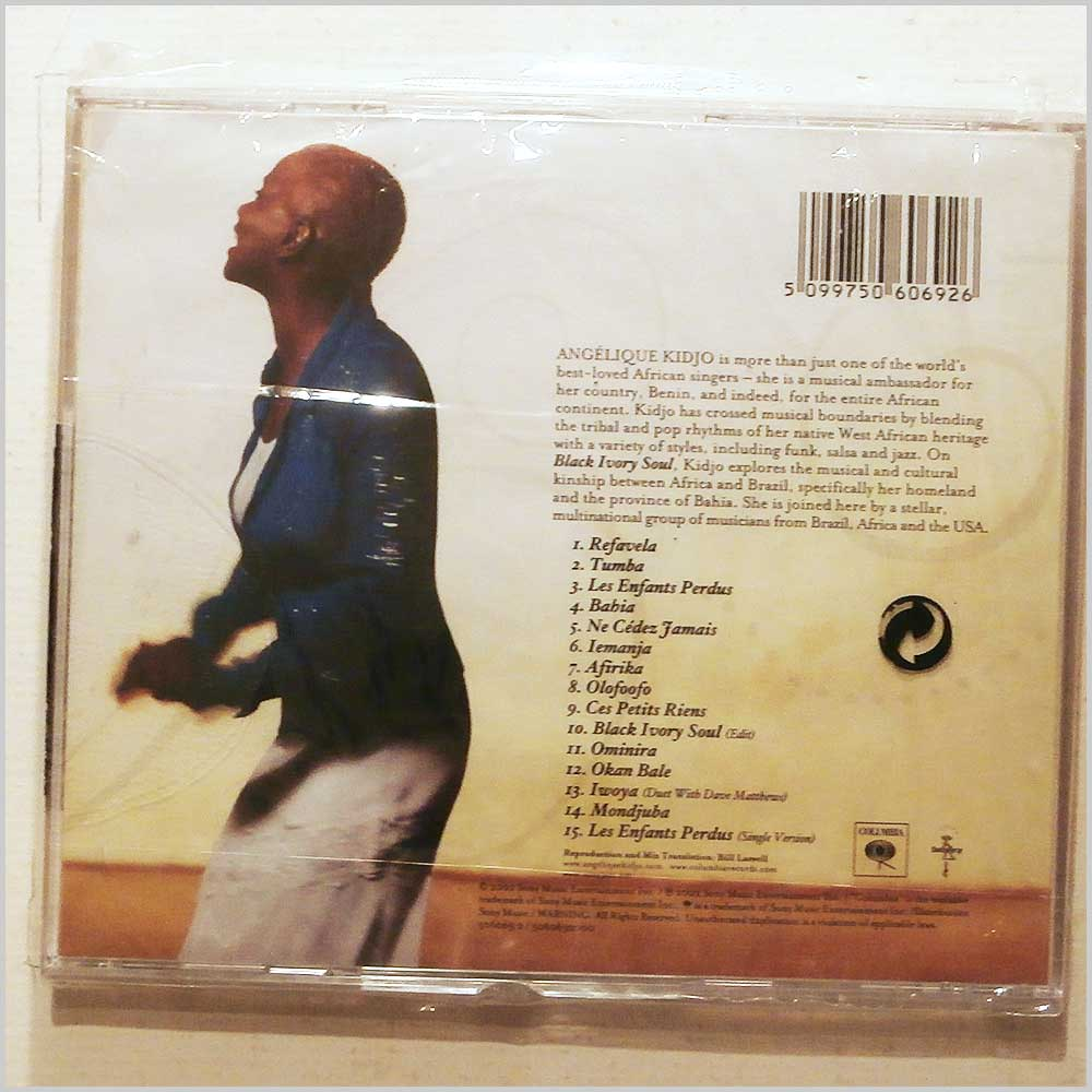 Angelique Kidjo - Black Ivory Soul (5099750606926)
