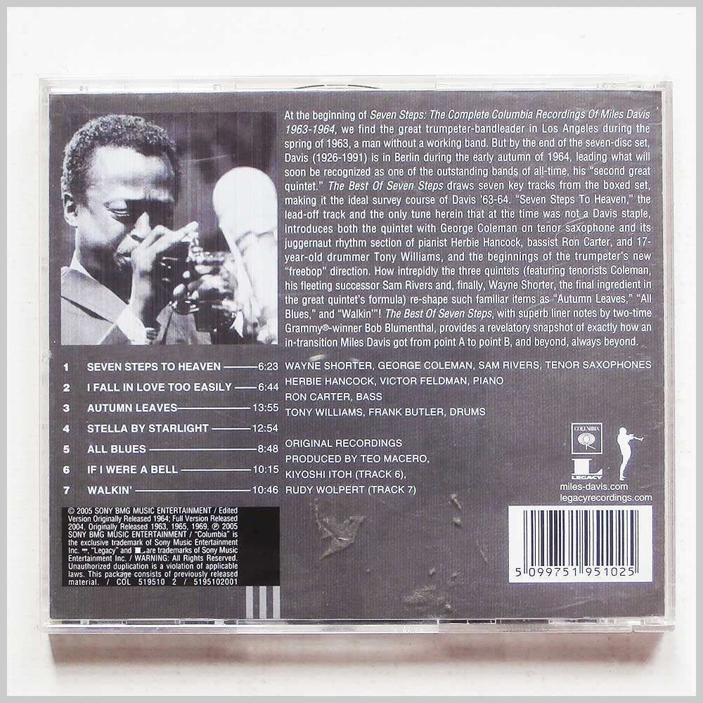 Miles Davis - The Best Of Seven Steps: The Complete Recordings 1963-1964 (5099751951025)