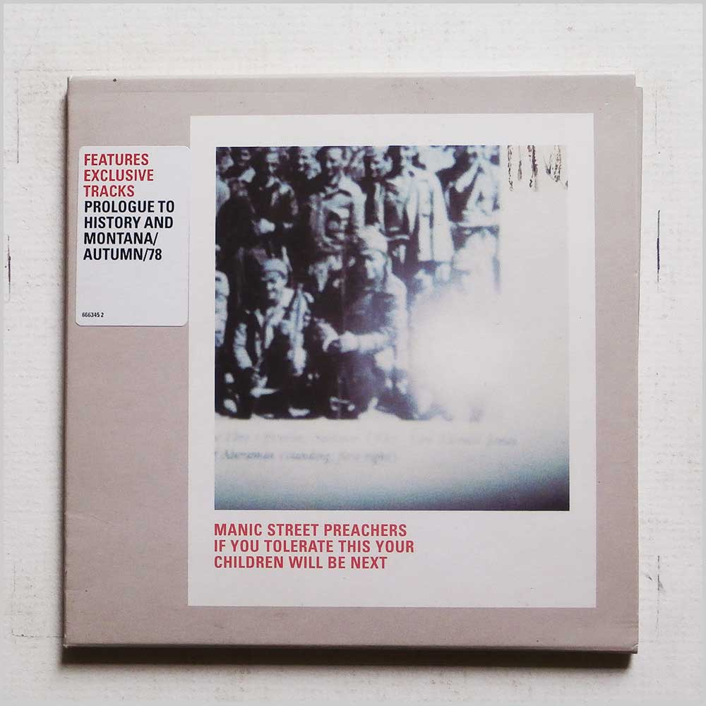 Manic Street Preachers - If You Tolerate This Your Children Will Be Next (5099766634524)