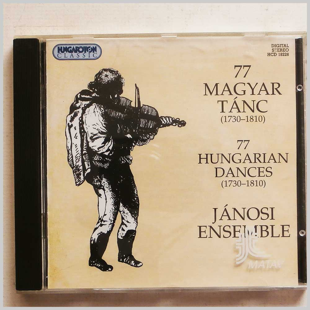 Janosi Ensemble - 77 Maygar Tanc, 77 Hungarian Dances (5991811822828)