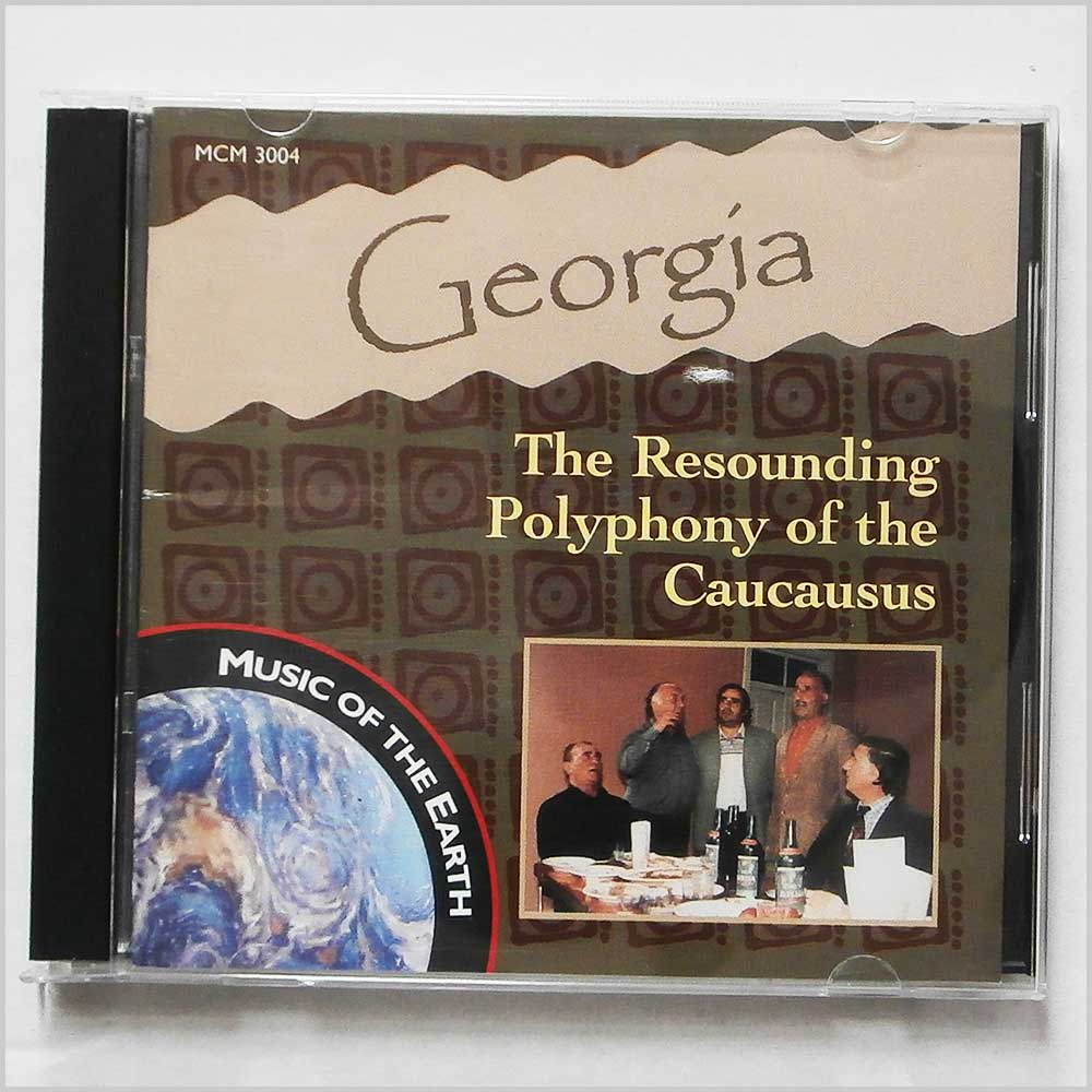 Various - Georgia: The Resounding Polyphony Of The Caucausus (600929300429)
