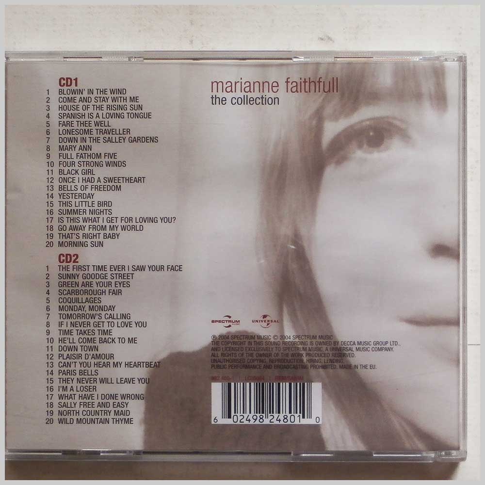Marianne Faithfull - The Collection (602498248010)