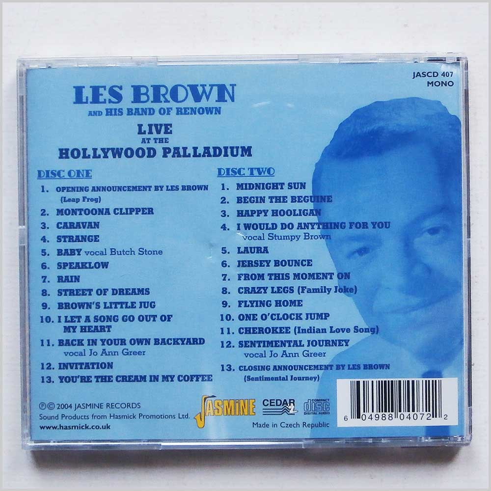Les Brown and His Band of Renown - Live At The Hollywood Palladium (604988040722)