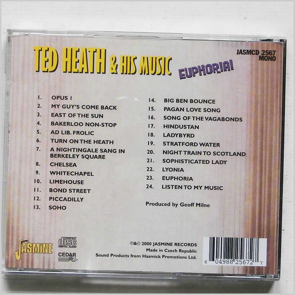 Ted Heath and his Music - Euphoria! (604988256727)
