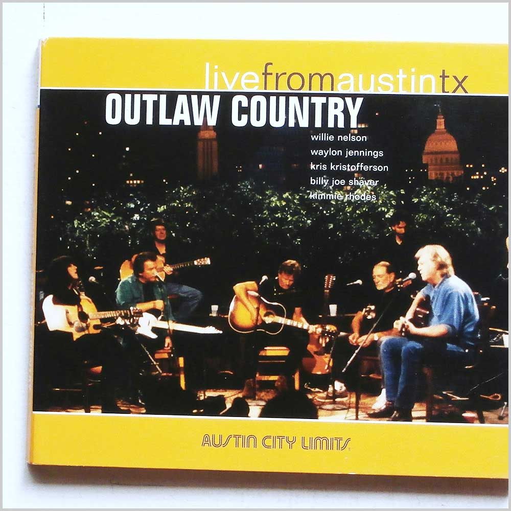 Waylon Jennings, Willie Nelson, Kris Kristofferson - Outlaw Country Live From Austin TX  (607396609727)