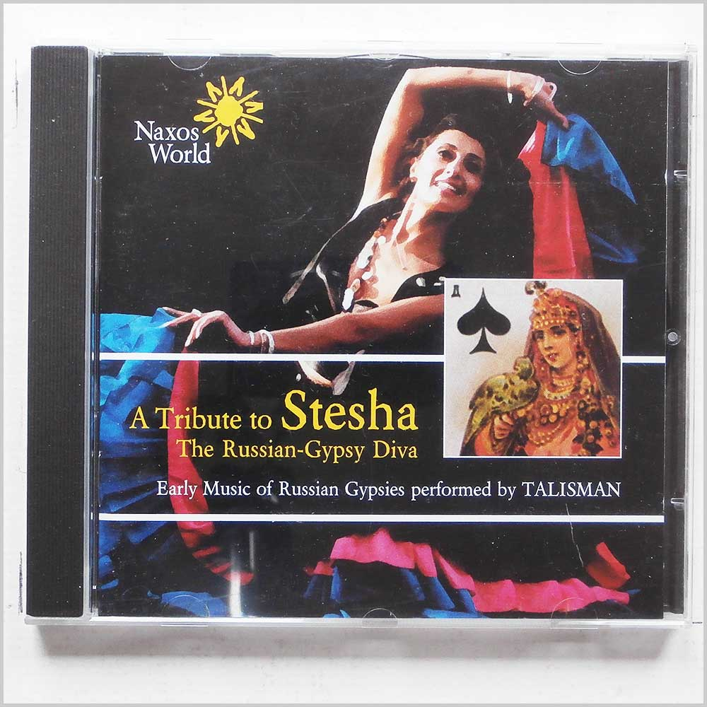 Talisman - A Tribute to Stesha, The Russian Gypsy Diva: Early Music of Russian Gypsies (636943706527)