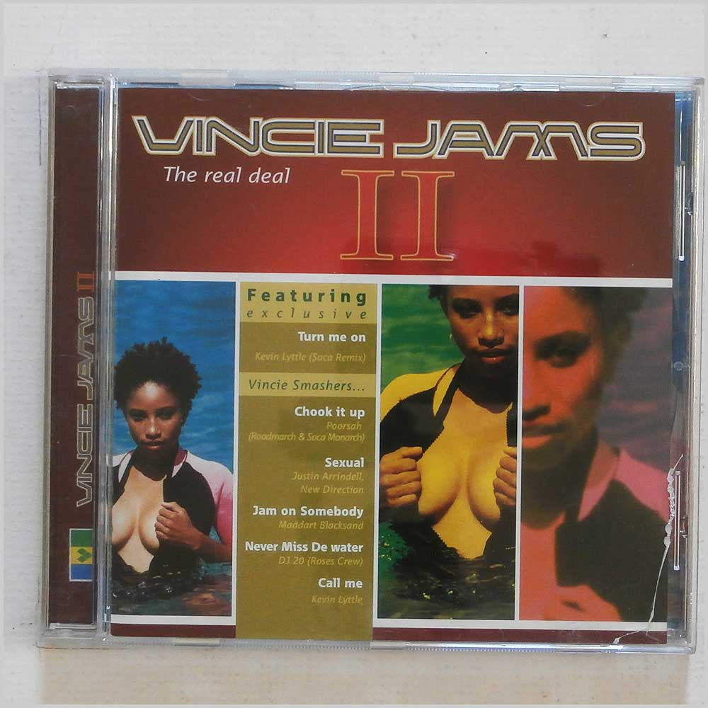 Vincie Jams II - The Real Deal (649035419328)