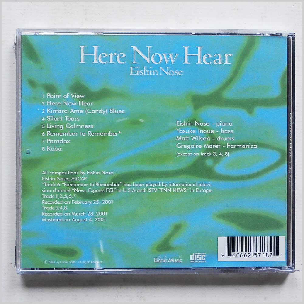 Eishin Nose - Here Now Hear (660662571821)
