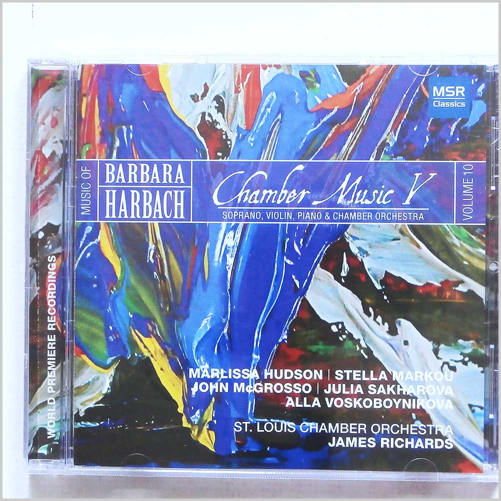 James Richards St Louis Chamber Orchestra - Music Of Barbara Harbach: Chamber Music V (681585154427)