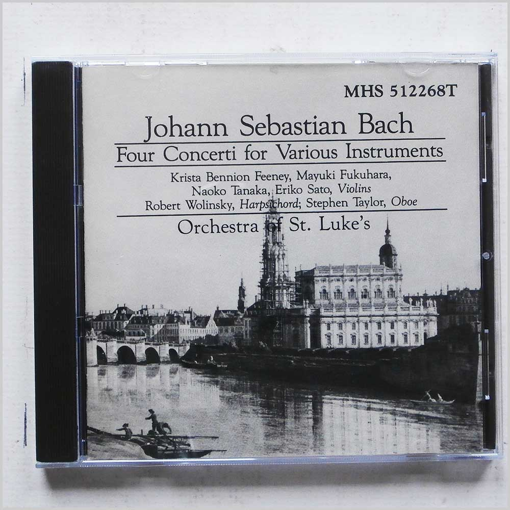 Orchestra of St Luke's - Johann Sebastian Bach: Four Concerti for Various Instruments (689279389728)
