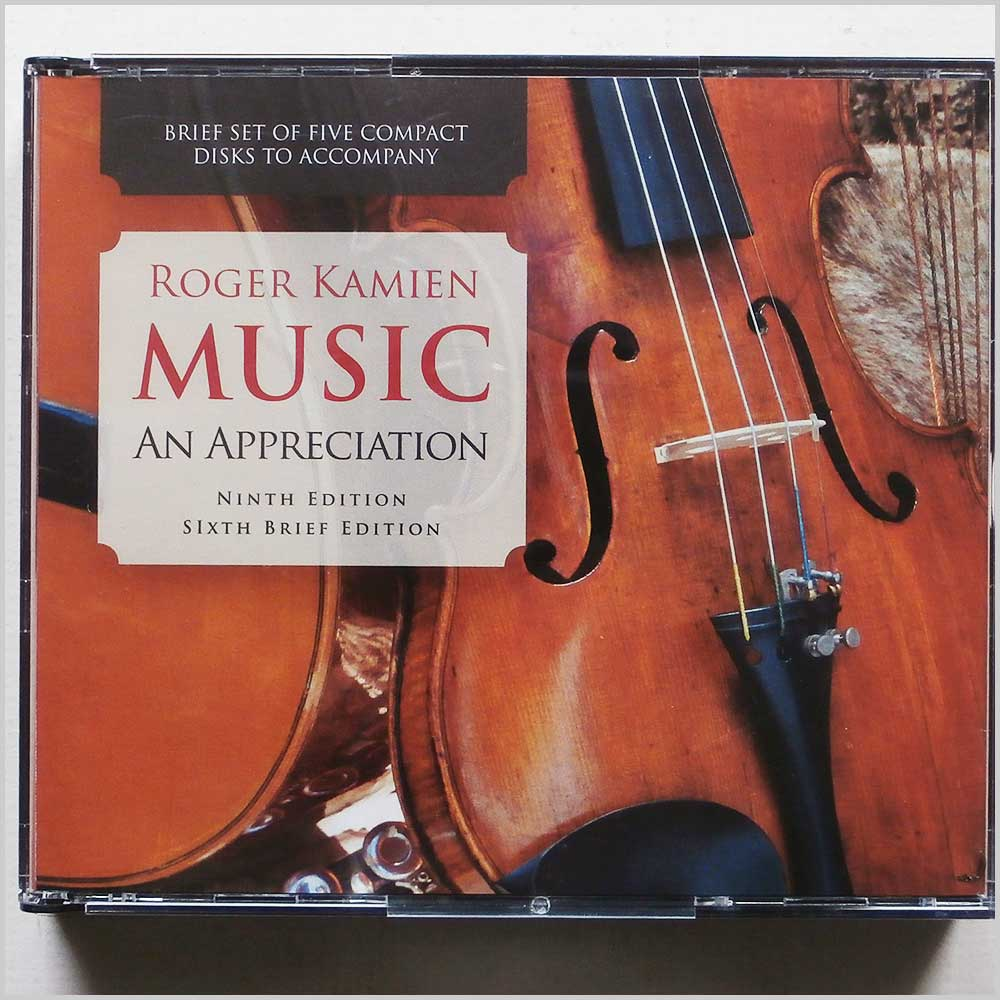 Roger Kamien - Roger Kamien: Music, An Appreciation [5-CD Set to Accompany the 9th Edition and the 6th Brief Edition] (689279391646)