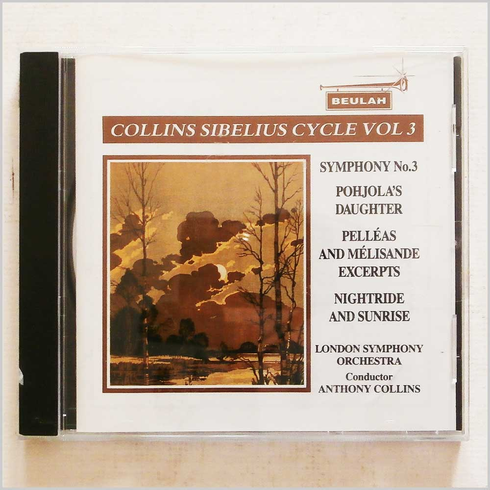 Anthony Collins, London Symphony Orchestra - Collins Sibelius Cycle Vol.3 (689279421329)