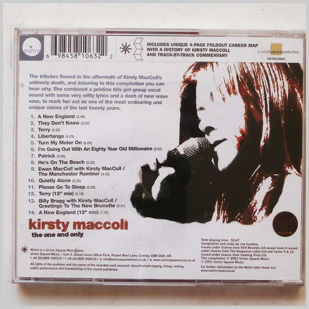 Kirsty MacColl - The One And Only (698458106322)