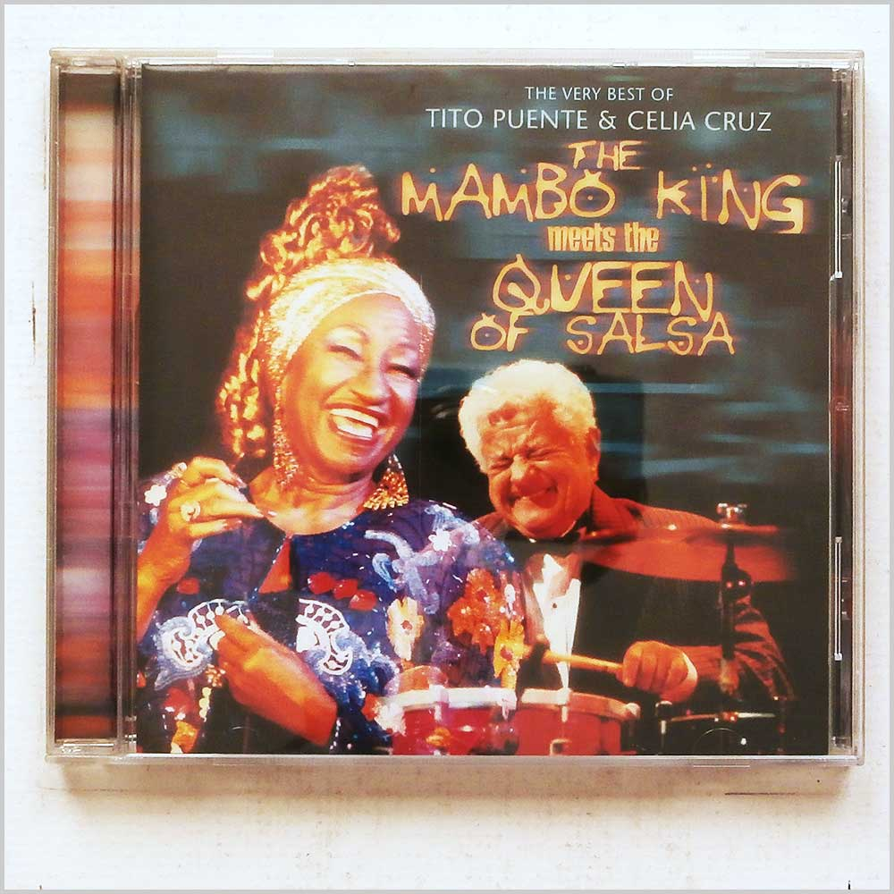 Celia Cruz, Tito Puente - The Mambo King Meets The Queen Of Salsa (698458200327)