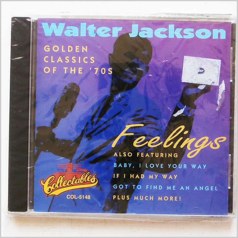 Walter Jackson  - Feelings, Golden Classics of The 70's (704335244435)