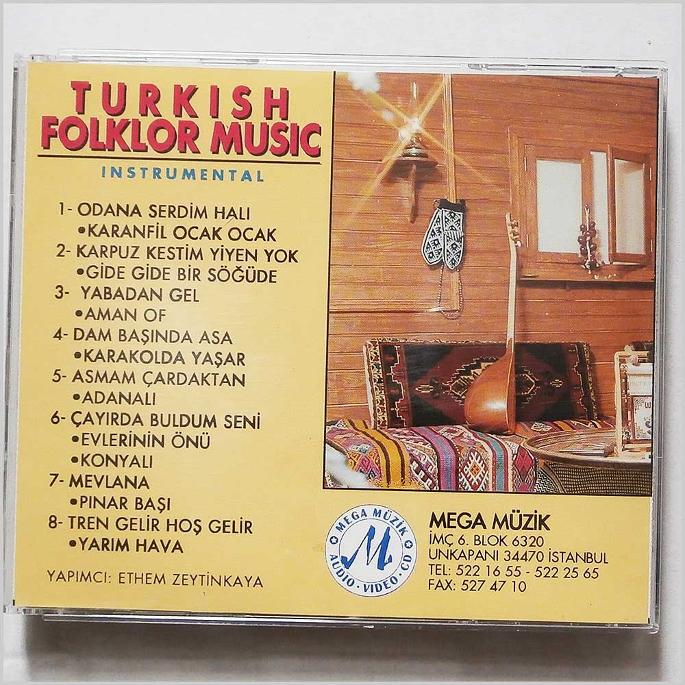 Various - Turkish Folklor Music (704335255110)