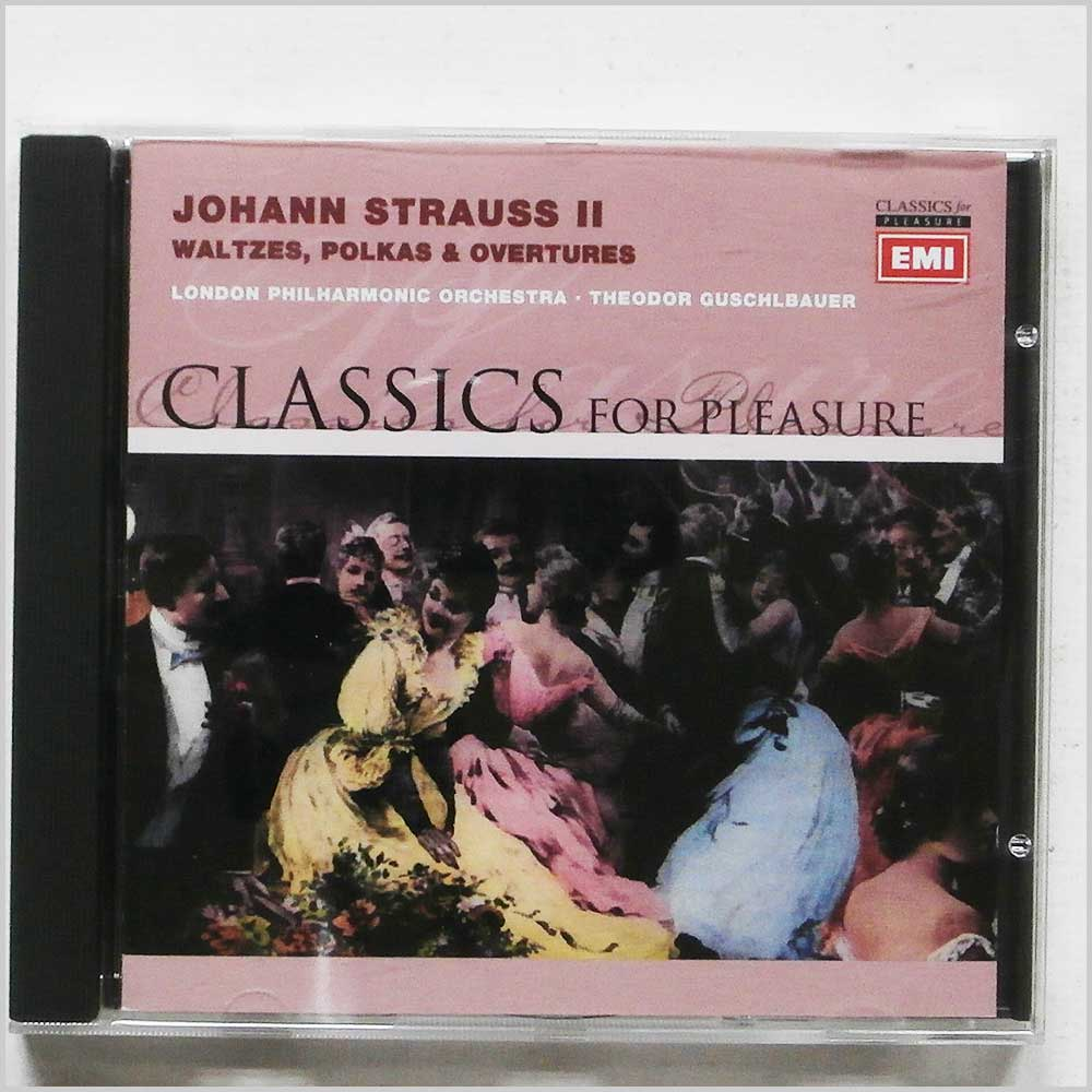 London Philharmonic Orchestra - Johann Strauss II: Waltzes, Polkas and Overtures (724357269629)