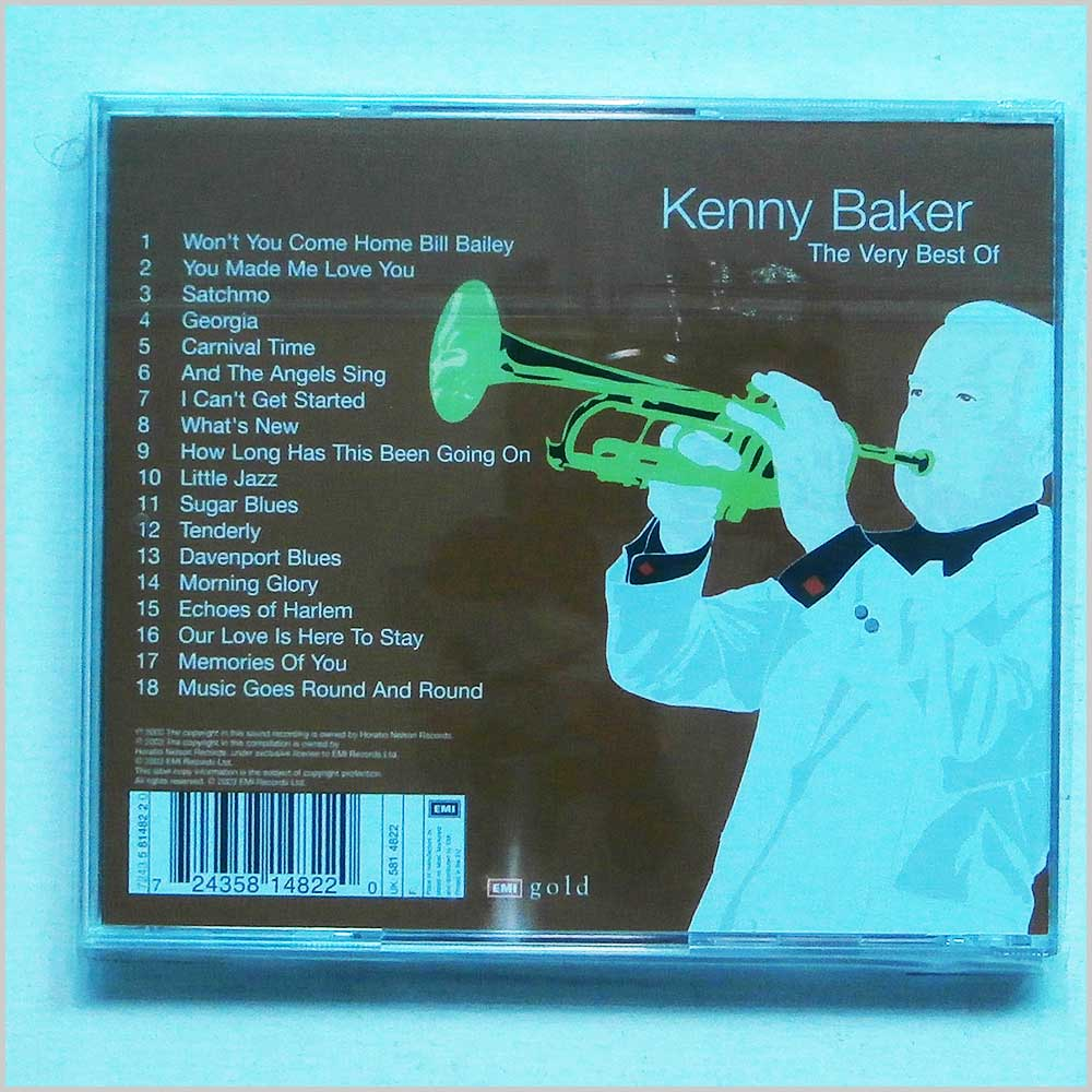 Kenny Baker - The Very Best Of Kenny Baker (724358148220)
