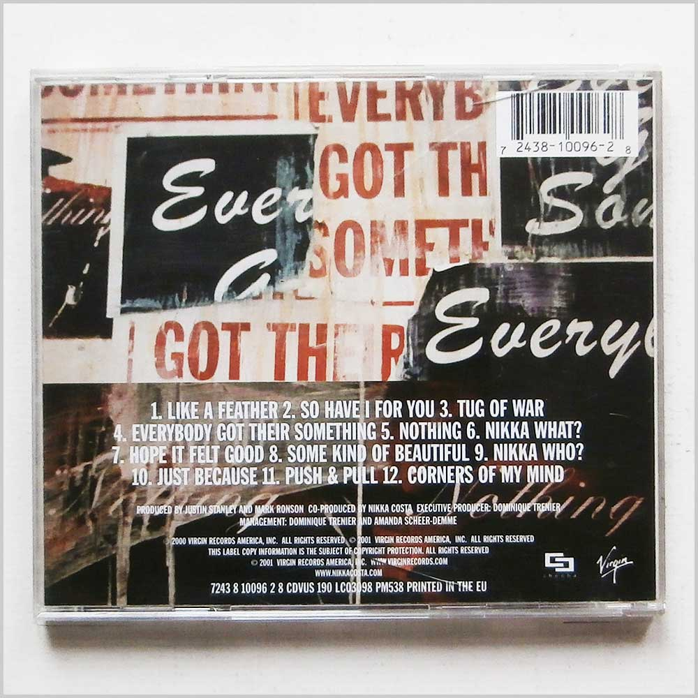 Nikka Costa - Everybody Got Their Something (724381009628)
