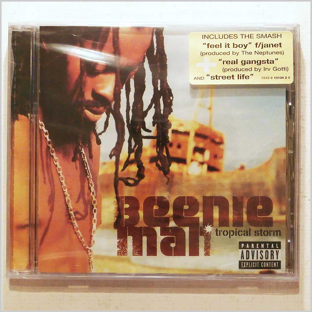 Beenie Man - Tropical Storm (724381313428)