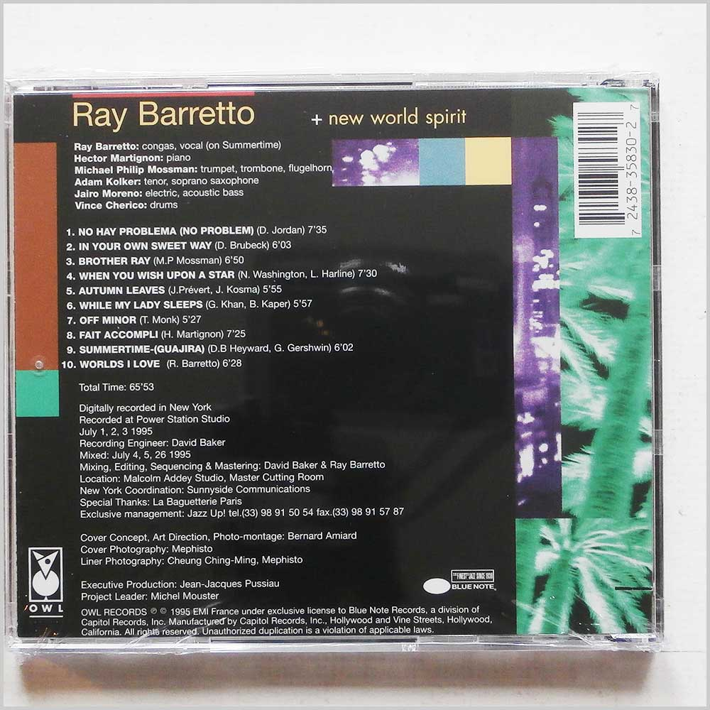 Ray Barretto - My Summertime (724383583027)