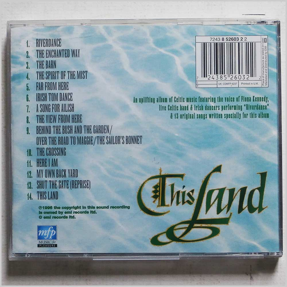 Various - This Land: Inspired by the show Riverdance (724385260322)