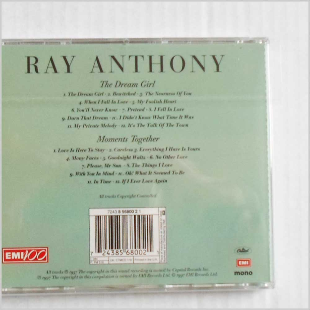 Ray Anthony - The Dream Girl, Moments Together (724385680021)